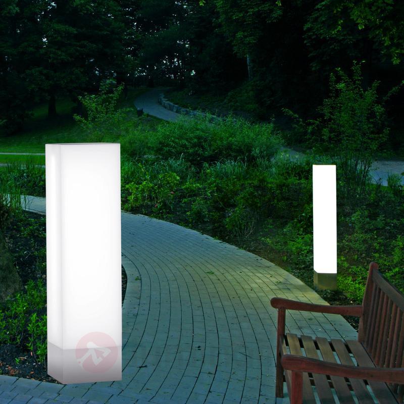 Borne lumineuse en inox BASALT 44, hauteur 108 cm - Bornes lumineuses inox