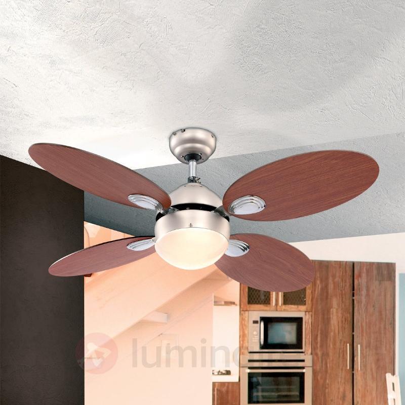 Ventilateur de plafond Wade ac interrupt à tirette - Ventilateurs de plafond modernes