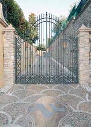 Cancello in ferro battuto - null
