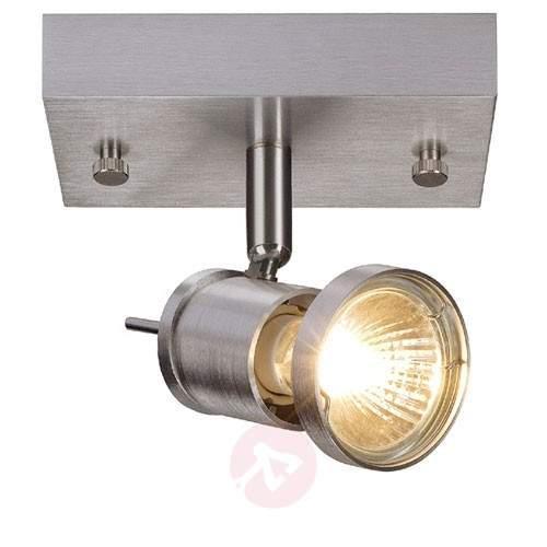 Asto Ceiling Spotlight Single Bulb Decorative Ring - Ceiling Lights