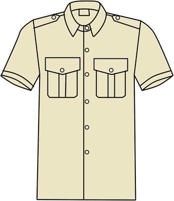 Suits Bodywear - 140G SHORT SLEEVED PILOT SHIRT FR