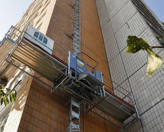 GEDA MCP 750 - GEDA MCP 750 - Mast Climbing Platforms