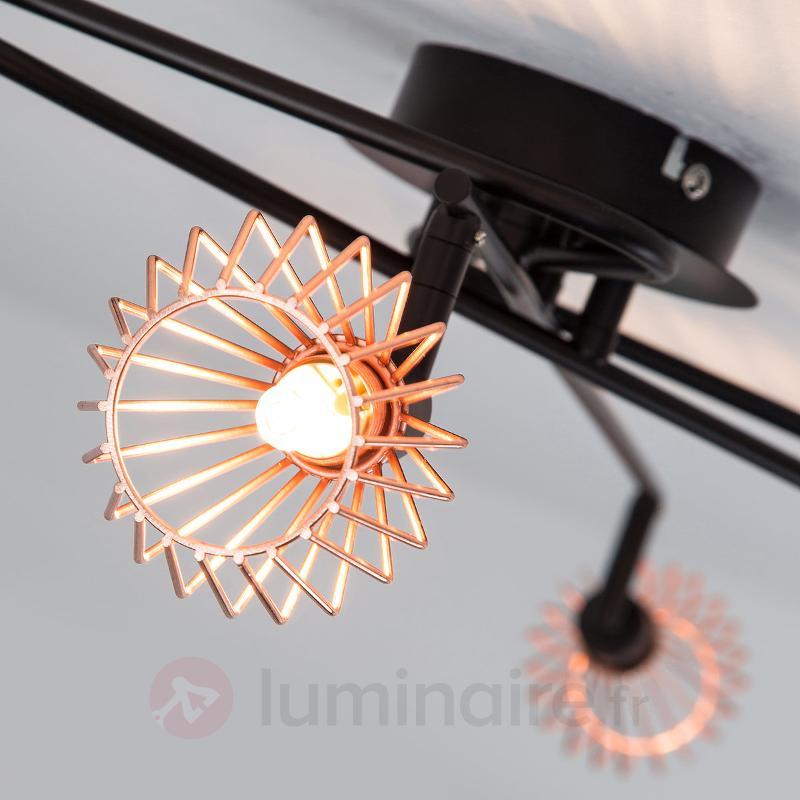 Plafonnier tendance Dalma - 6 lampes - Tous les plafonniers