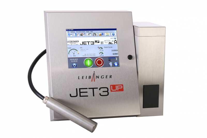 LEIBINGER JET3up - Industrieller Inkjet-Drucker