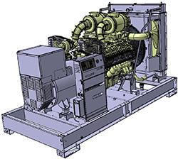 Groupes industriels standard - D550U
