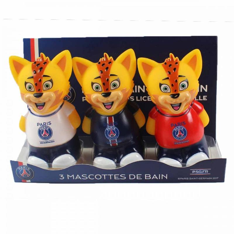 6x Packs de 3 mascottes de bain Paris Saint Germain - Puériculture