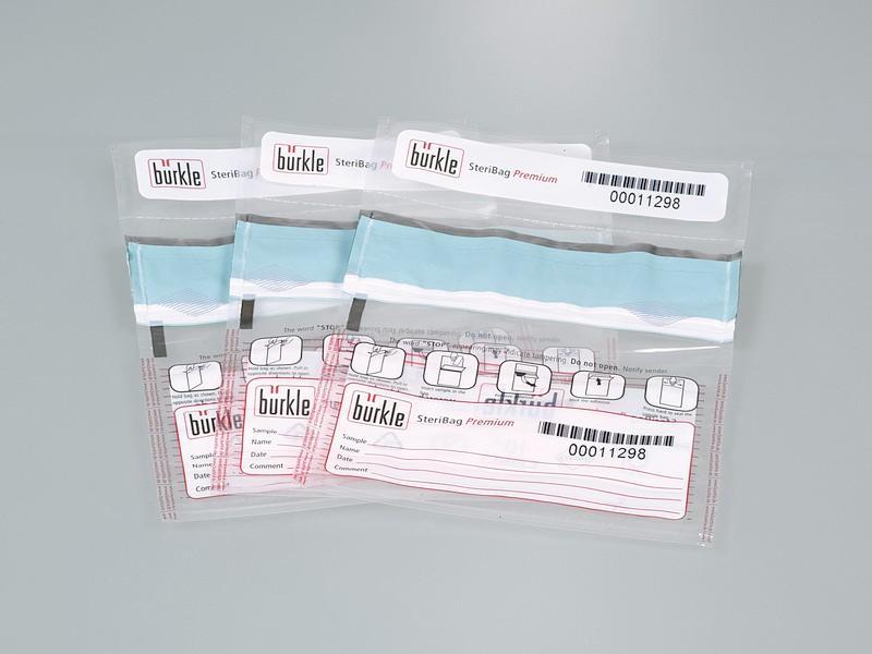 SteriBag Premium tamper-proof sample bag - Sampling set, disposable