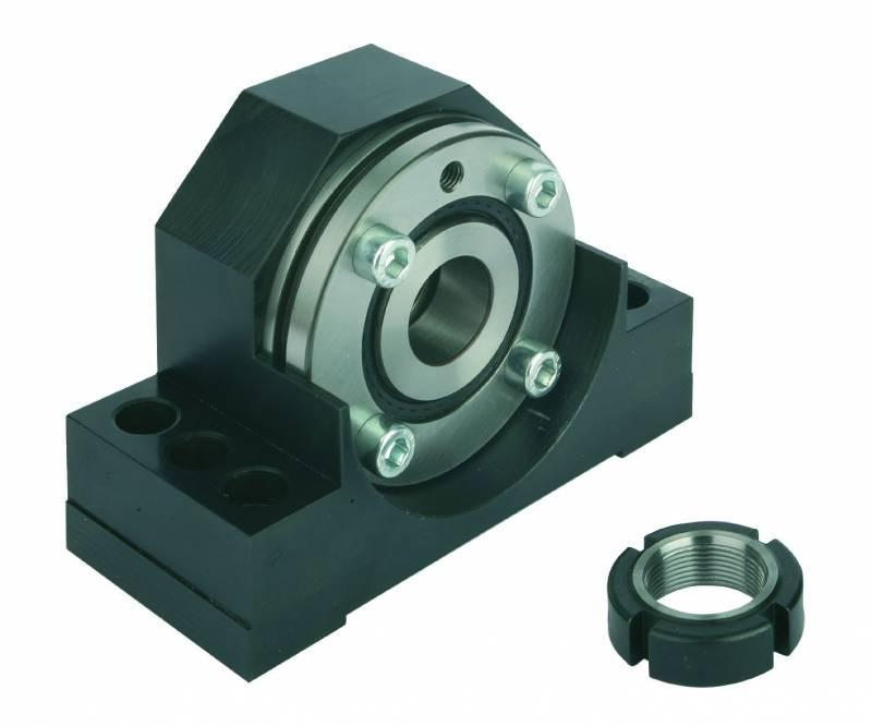 Fixed bearing units - Fixed bearing units. Housing steel, black oxidised.