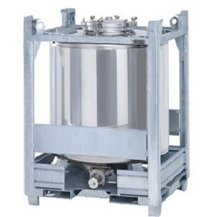 350 Gallon IBC Tanks - Stainless Steel