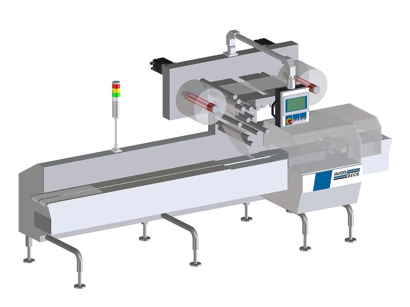 Continuous Flowpack Machines - Fully automatic flowpack machines either for high-speed or airtight packaging