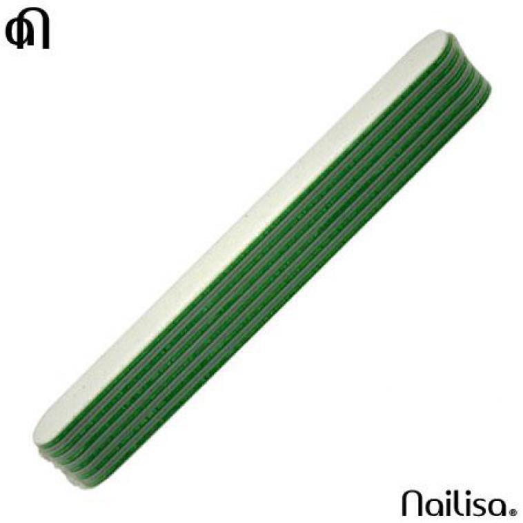 6 Pcs Arti Green File 100/180 - Limes & Blocs