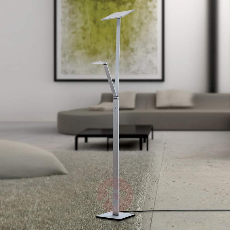 LED floor lamp Ayana with integrated reading lamp - Floor Lamps
