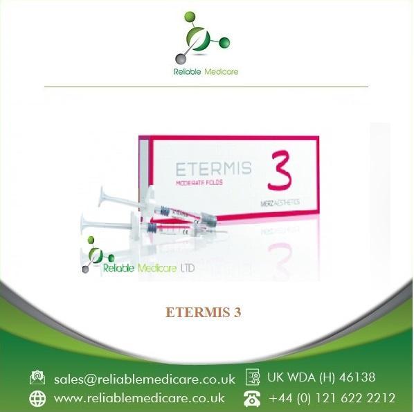ETERMIS, dermal filler, RELIABLE MEDICARE, United Kingdom