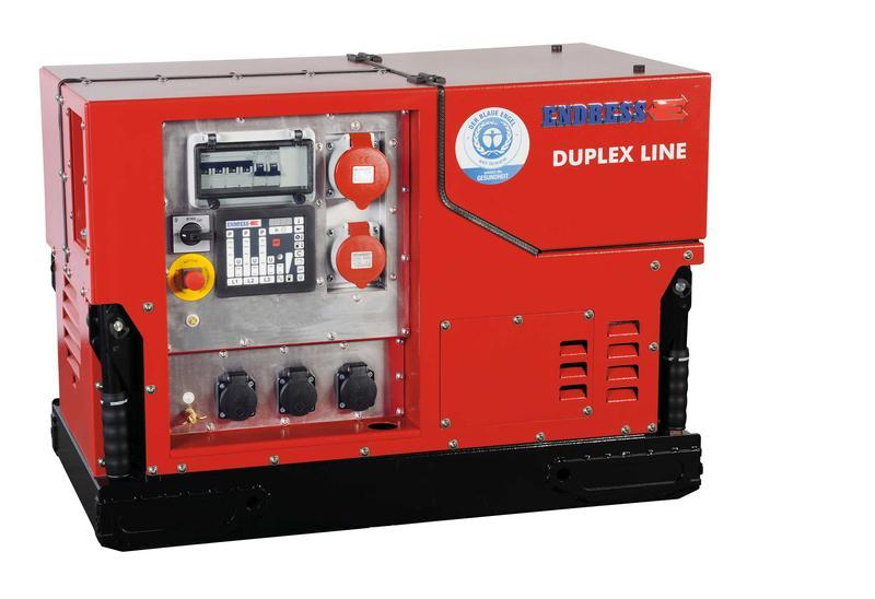POWER GENERATOR for Professional users - ESE 1308 DBG ES DUPLEX