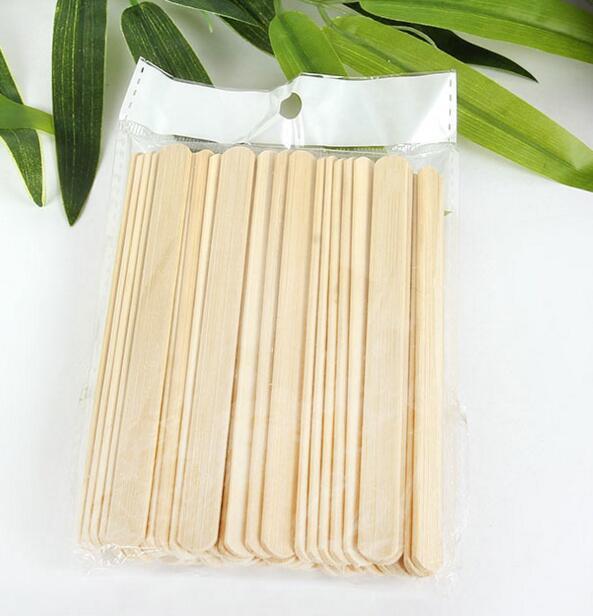 Wood ice cream sticks - disposable popsicle sticks