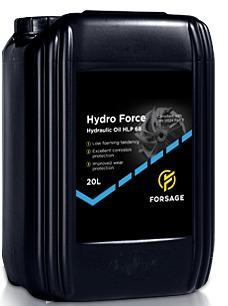 Hydraulic oil   - Hydraulic oil Forsage Hydro Force HLP 46