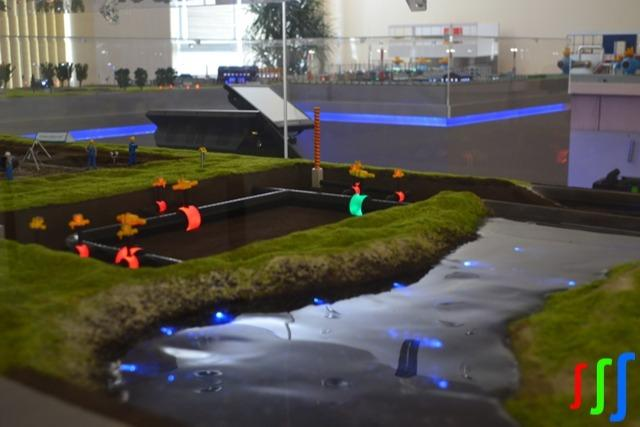 Simulation model  - Interactive complex simulation model (ICSM) – gas transport trunk pipeline