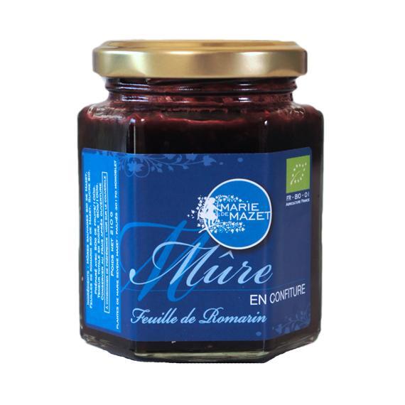 Confiture de Mûre et Romarin 210g - Épicerie sucrée