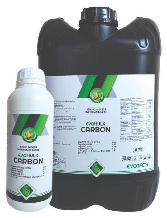 Evo Hulk Carbon - Bitkisel Menşeli Sıvı Organik Gübre