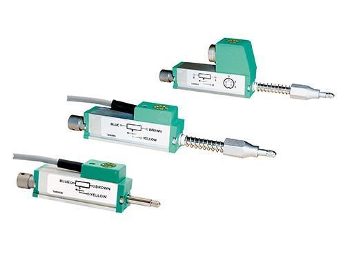 线性位移变送器 - 8712, 8713 - 用于直接测量机械位移,长久耐用,可根据要求进行随动滚动