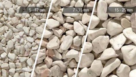 Galets de marbre - petit poucet dépose des petits galets blancs