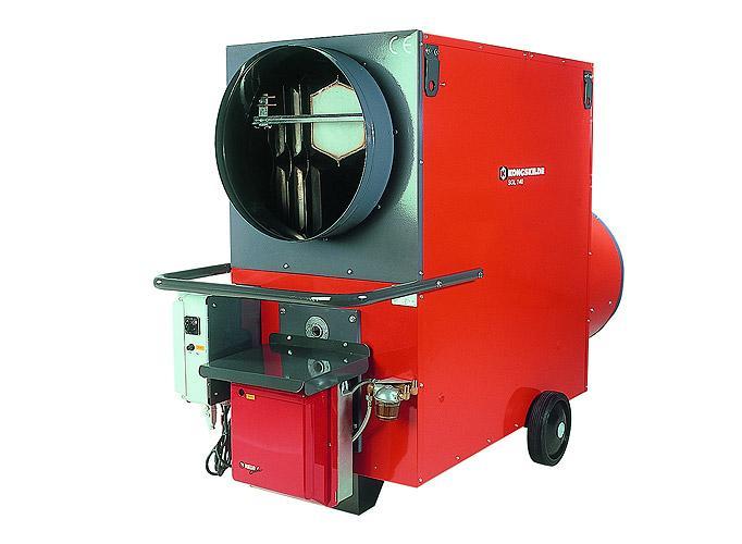 Appareils de chauffage fioul combustion indirecte - SOL - Chauffage - Génerateurs à air chaud