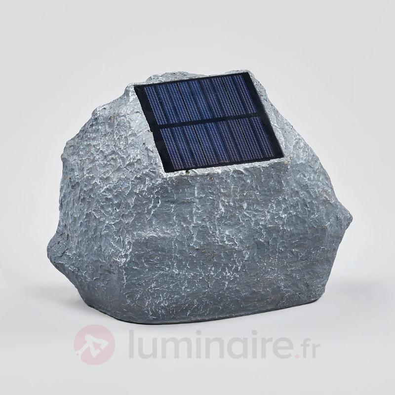 Pierre solaire éclairante Lior à LED - Toutes les lampes solaires