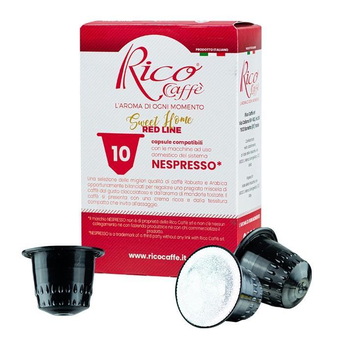 Capsule compatibili Nespresso Red Line -