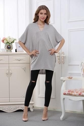 Batwing blouse without sleeve