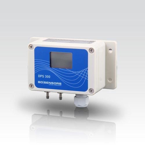 Differential Pressure Transmitter DPS 300 - differential pressure transmitter / membrane / analog / with display