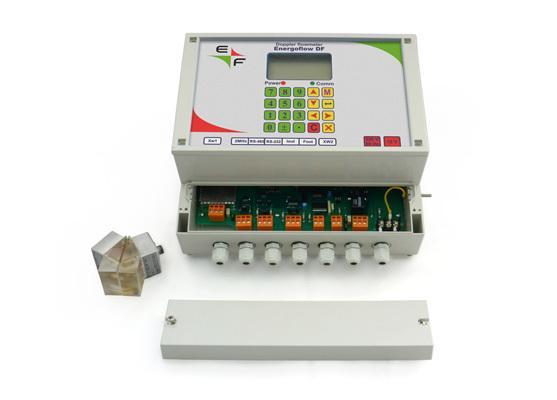Energoflow DOPPLER FLOW METER with clamp-on sensors -