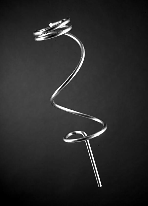 Drahtbiegeteil - Spirale - rostfrei - null