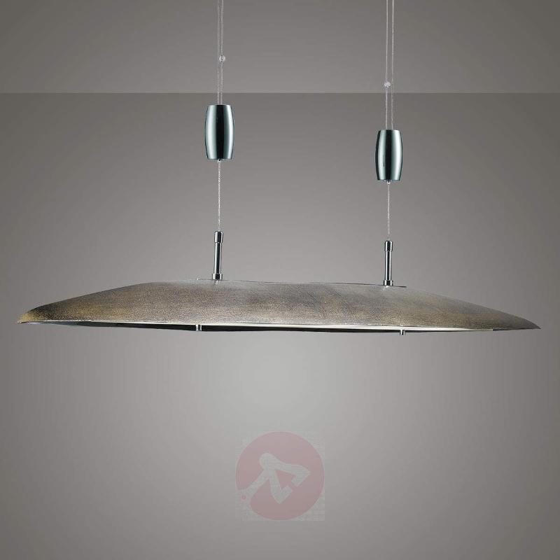 Exclusive LED hanging light Maren, gold - Pendant Lighting