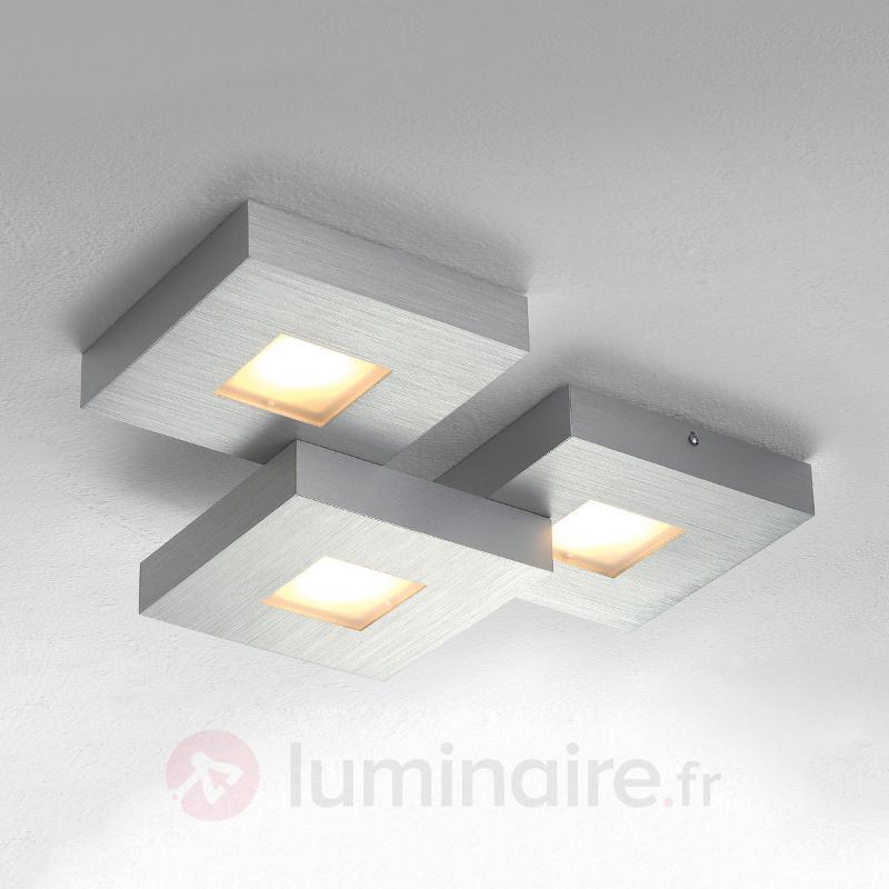 Cubus - plafonnier LED à trois lampes - Plafonniers LED