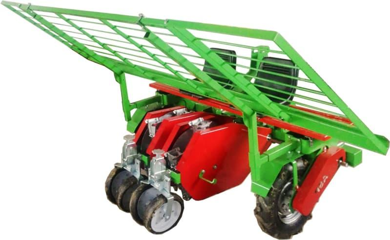 Transplanting machines - Agricultural thansplanting machines that can perform transplantation of plants