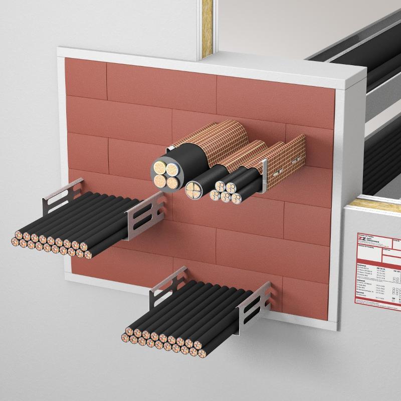 Abschottungssysteme Kabelabschottung - System ZZ-Steine 120 BDS-N