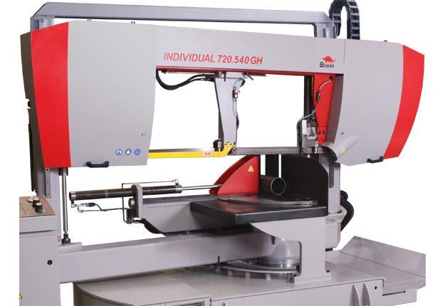 Scie à ruban semi-automatique  - INDIVIDUAL 720.540 GH