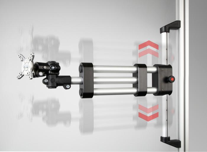 Brazos de soporte/brazos giratorios para soportes de monitor -