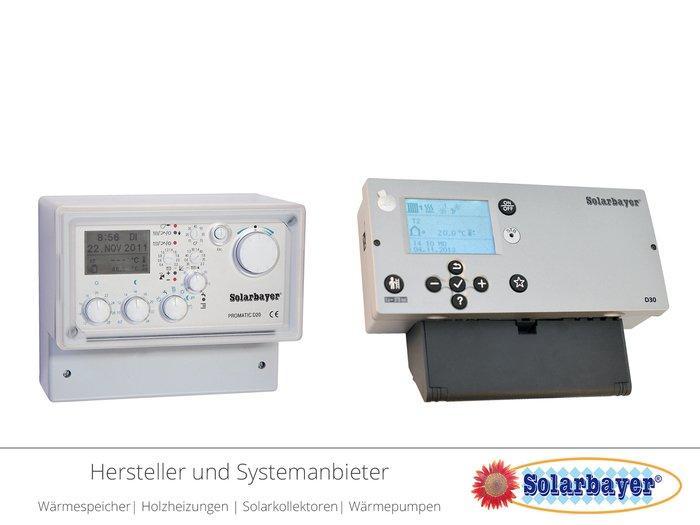 Solarbayer Heizungsregler und Kesselregler - D20 + D30