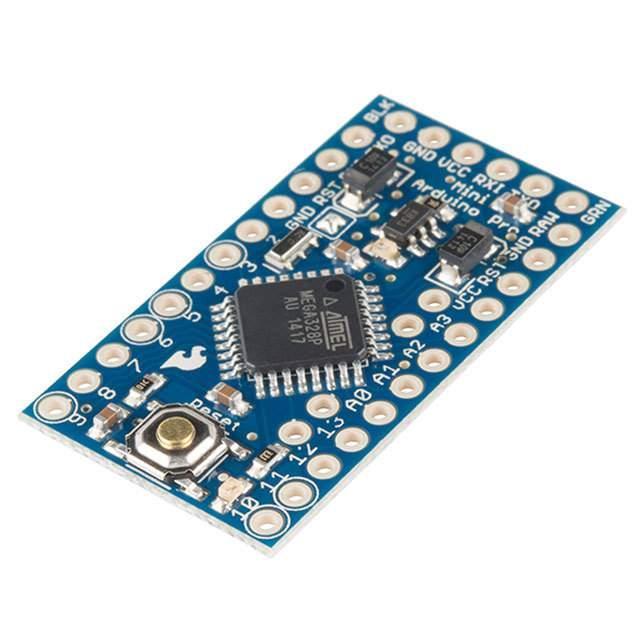 ATMEGA328 ARDUINO PRO MINI 3.3V - SparkFun Electronics DEV-11114