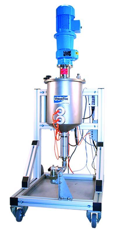 ViscoTreat-R/Aufbereitungssystem und Zuführsystem - Produktversorgung/Vorbereitung des Mediums durch Rühren und Zirkulieren