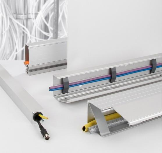 Alüminyum kablo kanalları/kablo kanalı sistemi -