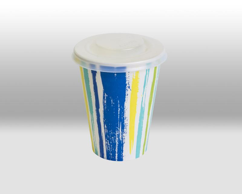 Lids for paper cups for cold beverages - ACCESSORIES