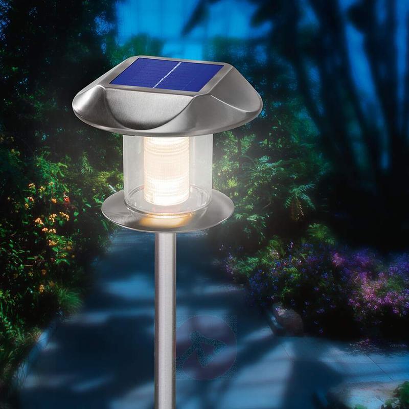 Sunny solar light stainless steel warm white - Solar Lights