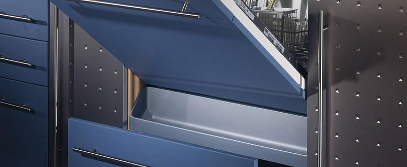 Steam protection and collecting tray Accessories for eye-level dishwashers - Collecting tray 600 silver 07 high gloss