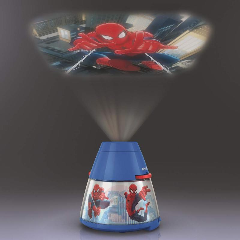 Spiderman LED table lamp with projector - Table Lamps
