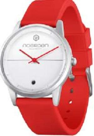 LIFE Hybrid Watch Red Silicon Band