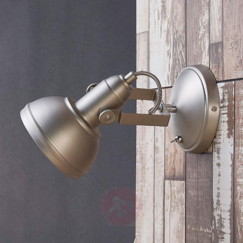 Attractive LED spotlight Tameo, matt nickel - Ceiling Lights