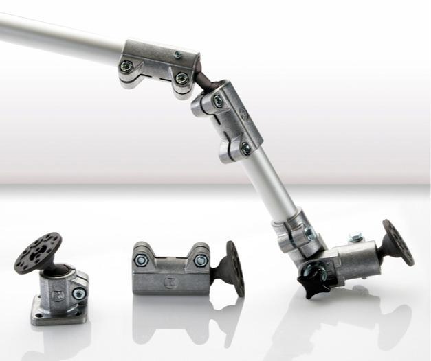 Solid Clamps con articulación esférica - Cuatro nuevos modelos para una flexibilidad aún mayor