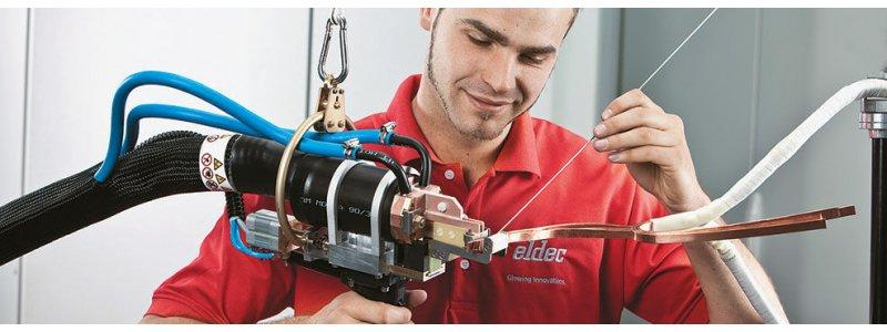 Brazing Pistols - Brazing pistols – fantastic solutions for induction brazing from eldec